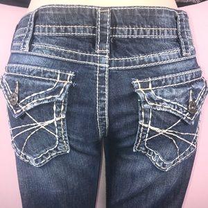Silver denim jeans 👖 Size 32 💕